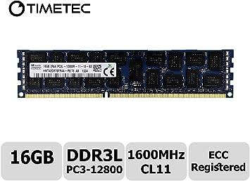8x16GB 128GB PC3-12800R DDR3 1600MHz ECC Reg Server Memory RAM Upgrade Kit