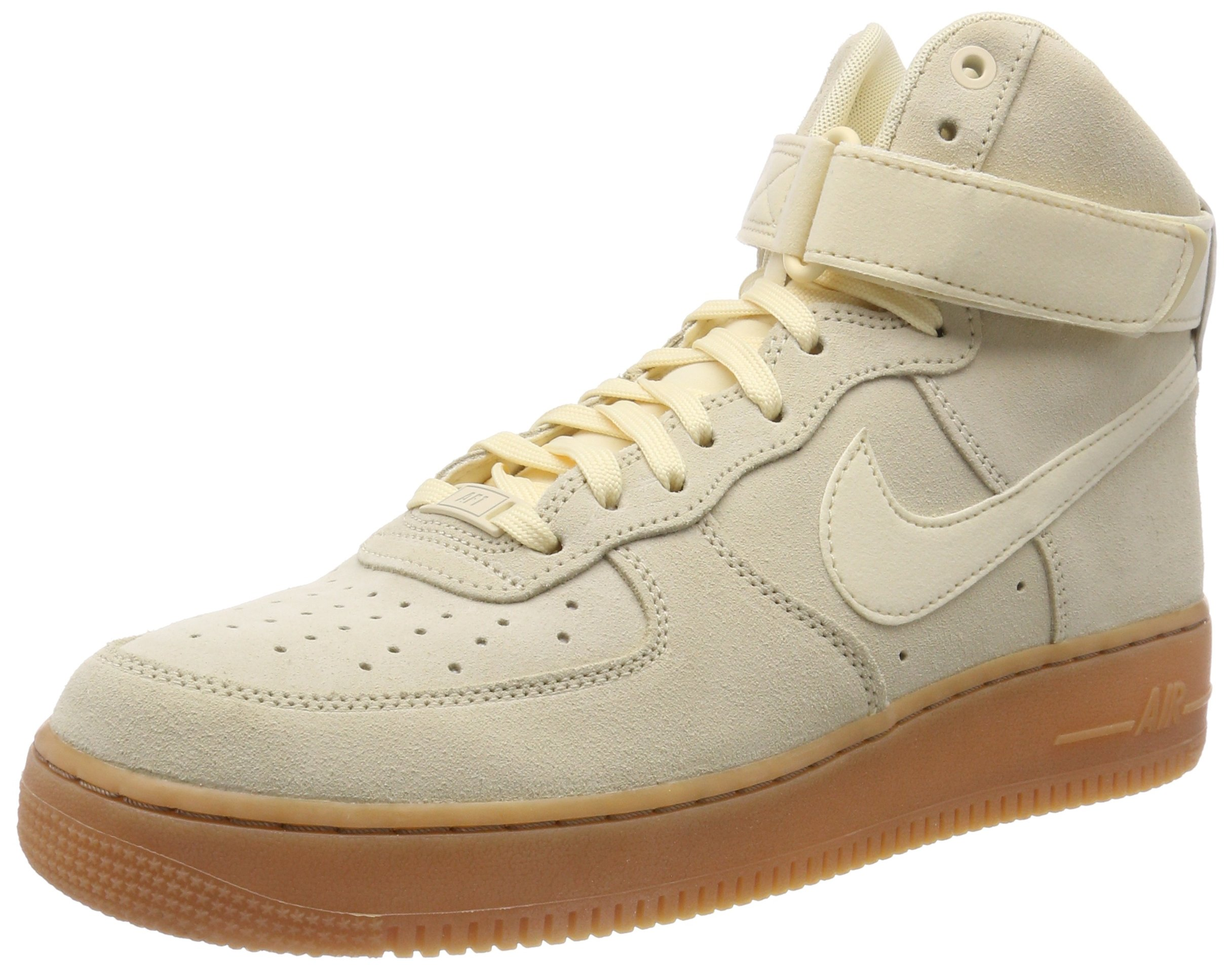 Nike Air Force 1 High '07 LV8 Suede Men's Shoes MuslinGum Medium Brown aa1118 100 (9.5 D(M) US)