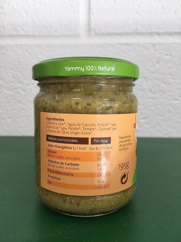 Yammy - Potito Comida Bebé Ecológico de Brócoli Espinacas Quinoa +6 meses Pack 6 x 195 gr - Total: 1170 gr: Amazon.es: Alimentación y bebidas