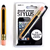 SUCK UK Touch Screen Stylus Pencil - Yellow