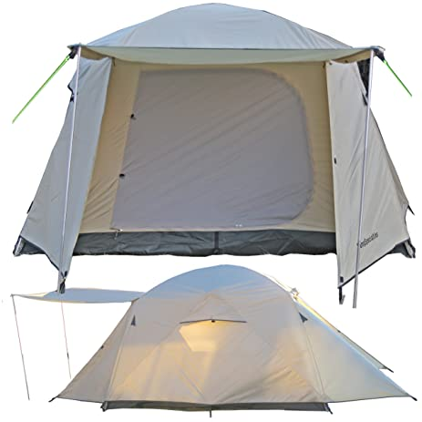 C& Time Expedition Tent Fast set-up 100 square feet including vestibules  sc 1 st  Amazon.com & Amazon.com: Camp Time Expedition Tent Fast set-up 100 square ...