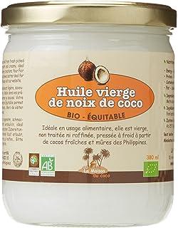 LA MAISON DU COCO - Huile Vierge de Noix de Coco bio   équitable 380 ml 8cc2d6ed7b8
