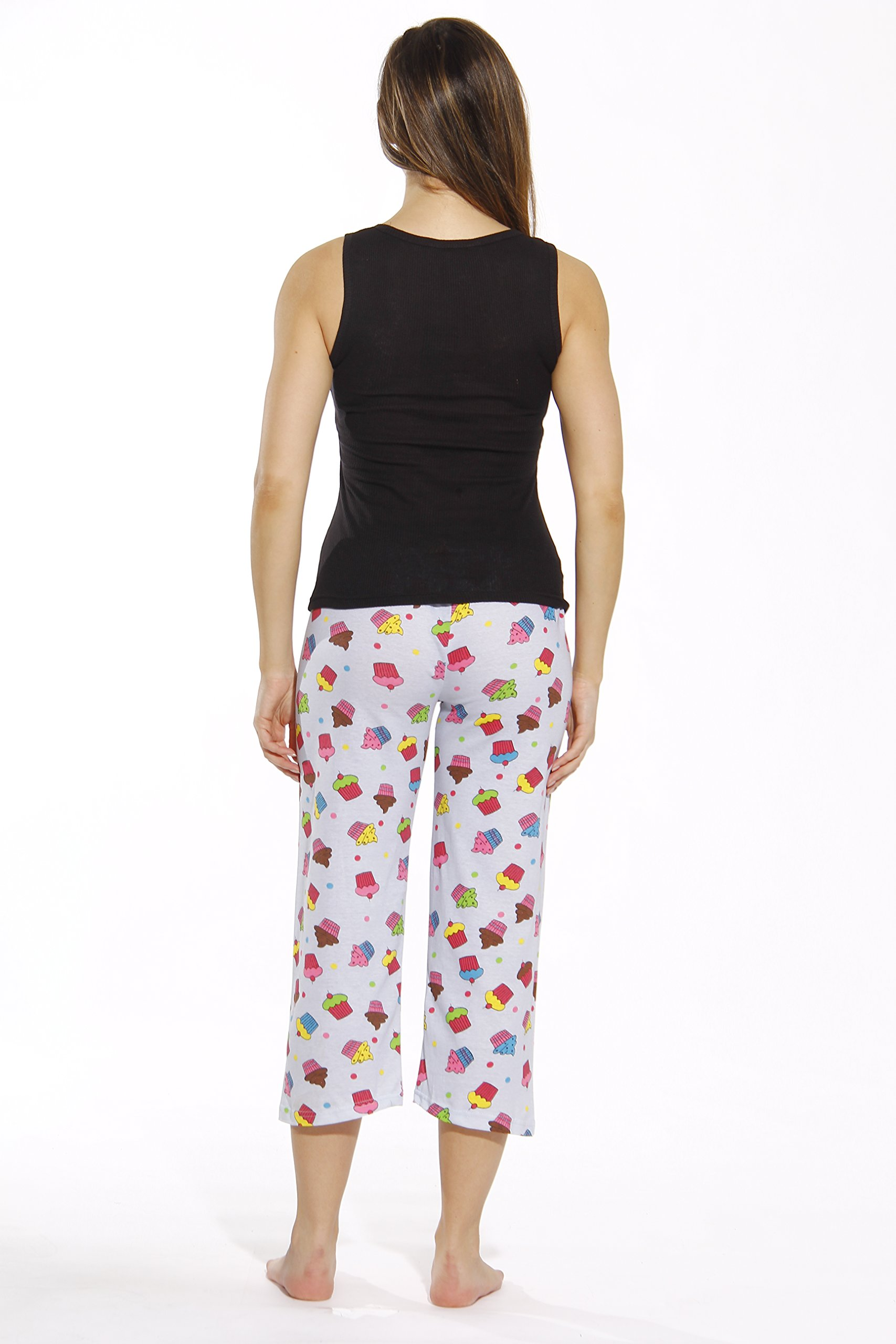Just Love 6329-10008-XL Capri Sets/Women Sleepwear/Womans Pajamas/PJS by Just Love (Image #3)