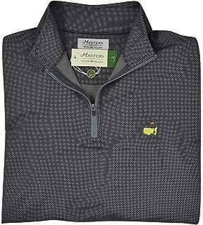 6d8dad2b447 PETER MILLAR 2018 Masters Men s Anthracite Performance Quarter Zip Pullover  Jacket