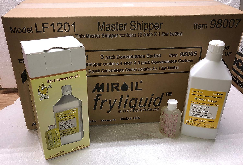 Amazon.com: Miroil FryLiquid, antioxidante para aceite de ...