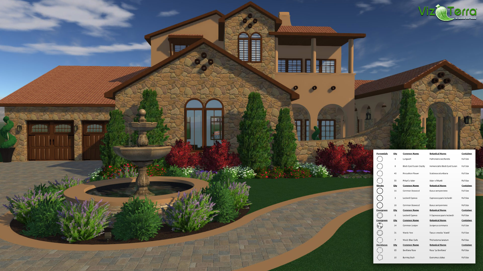 Amazon.com: VizTerra   Professional 3D Hardscape And Landscape Design  Software (12 Month Access) [Download]: Software