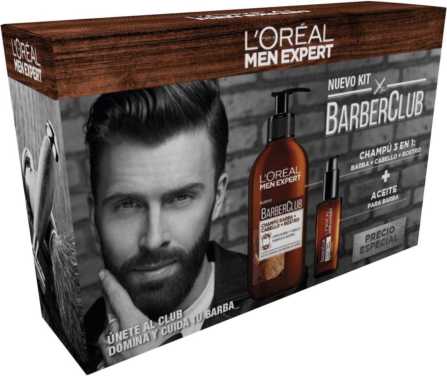 LOréal Men Expert Kit Barber Club - 445 gr: Amazon.es: Belleza