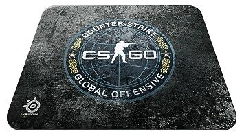 Steelseries QcK+ - Alfombrilla de ratón para Juego CS:GO Camo Edition