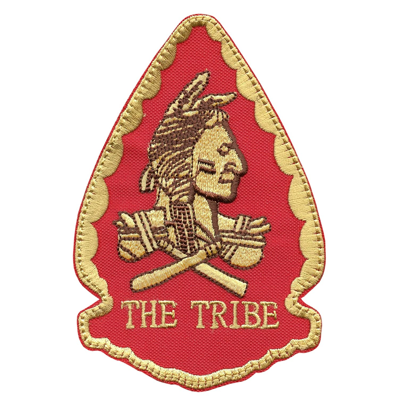 US ネイビーシールズ Red Team Squadron THE TRIBE モラール DEVGRU ベルクロ面ファスナー パッチ Patch   B016E3ZO52