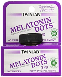 Twinlab Melatonin Dots Wintergreen Tablets, 3 mg, 60 Count natural sleep supplements - 81G 2B6n 2BTGFL - Natural sleep supplements – top 3 sleep supplements in the market