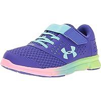 13a213bc1c0c Under Armour Kids  Pre School Rave Prism Adjustable Closure Athletic Shoe