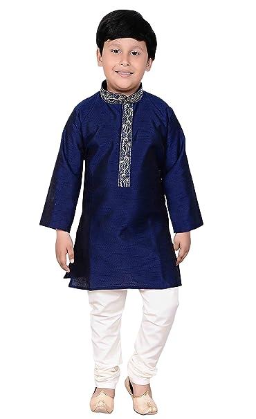 540df0a81 Desi Sarees Boys Sherwani Kurta Pyjama Fancy Dress Party 917: Amazon.co.uk:  Clothing