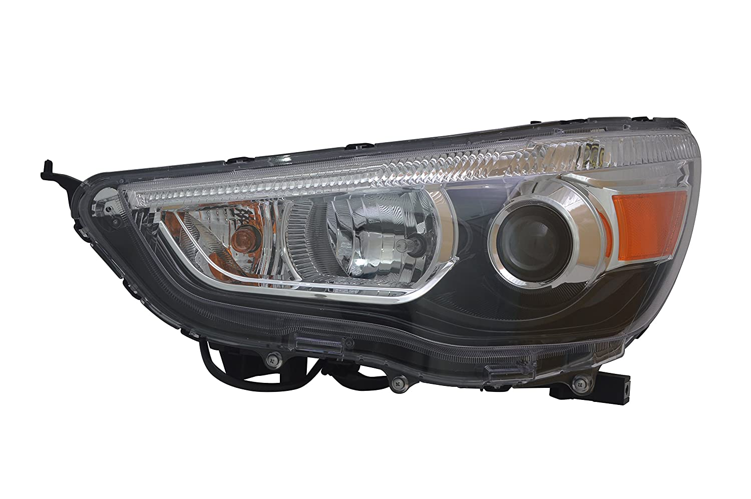 TYC 20-9263-00-1 Mitsubishi Outlander Sport Right Replacement Head Lamp