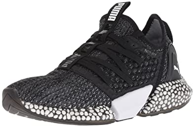 c88f37075812e PUMA Men s Hybrid Rocket Netfit Cross Trainer Black-Iron gate