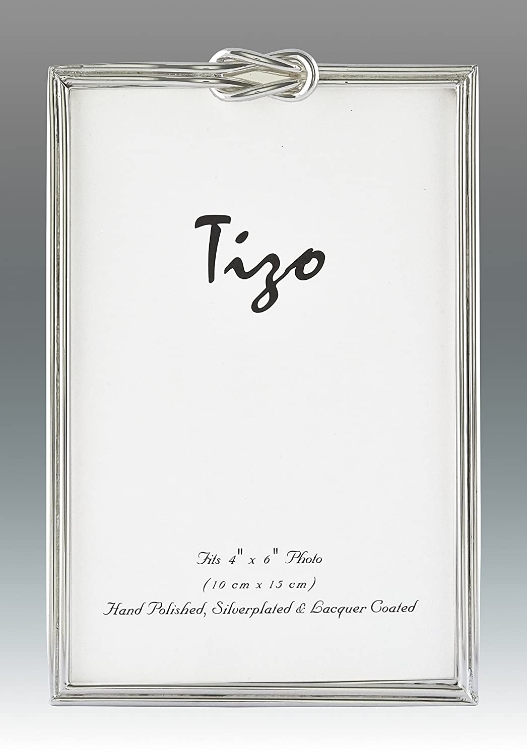 Amazon tizo 5 x 7 sterling silver plated picture frame amazon tizo 5 x 7 sterling silver plated picture frame with square knot border jeuxipadfo Choice Image