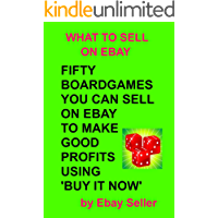 FIFTY BOARDGAMES YOU CAN SELL ON EBAY TO MAKE GOOD PROFITS USING BUY IT NOW (WHAT TO SELL ON EBAY)