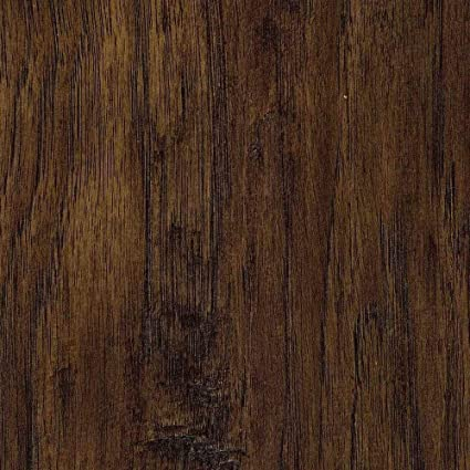 Trafficmaster Handscraped Saratoga Hickory 7 Mm Thick X 7 23 In