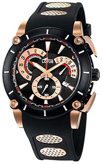 4bc344ce8418 Relojes Hombre Lotus Lotus Vulcano L9987 3  Lotus  Amazon.es  Relojes