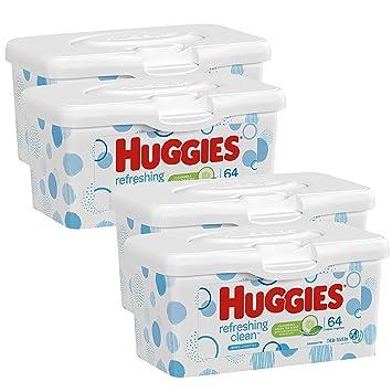 Amazon.com: Huggies - Toallitas perfumadas para bebé, 1, 1 ...