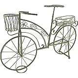 blumenst nder deko pflanzen fahrrad aus metall mit 4 k rben f r blumen arrangements ein. Black Bedroom Furniture Sets. Home Design Ideas