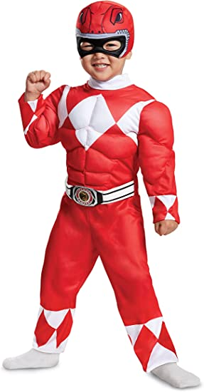 Mighty Morphin Power Rangers Black Ranger Classic Muscle Adult Costume