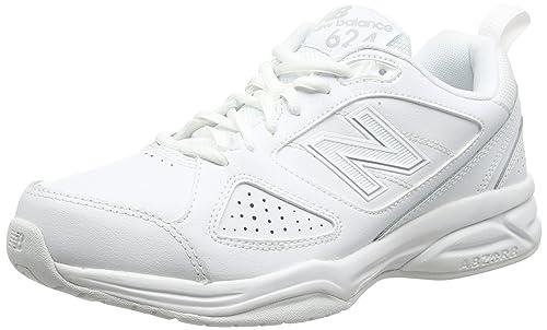 313d314178060 New Balance Men's MX624 Fitness Shoes, White (White), 6.5 UK (40