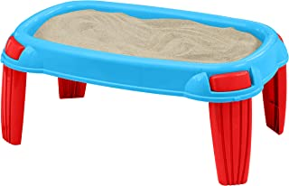 product image for American Plastic Toys Kids' Outdoor Sand Table, Backyard Sand Designs, Molds, and Castles, Sand Stays Dry with Waterproof Tarp Included, Safe BPA-Free Plastic, for Ages 18 Months+