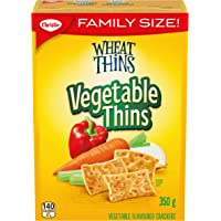 WHEAT THINS Vegetable Thins Family Size Crackers 350 g