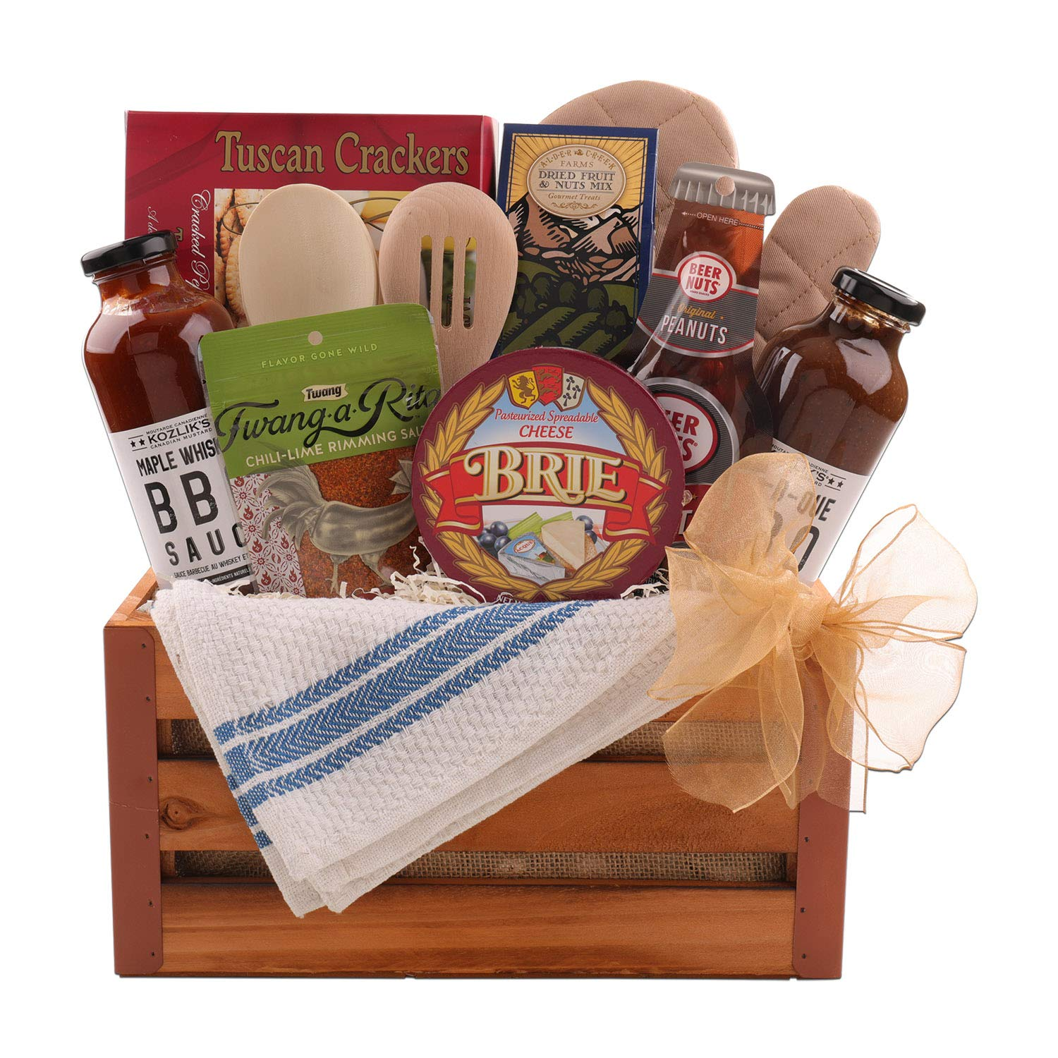Relax and Grill Gift Basket
