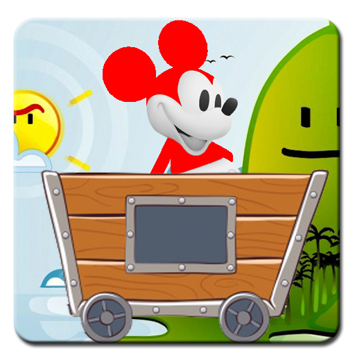 Mouse Trolley Adventure - Mickey Castle