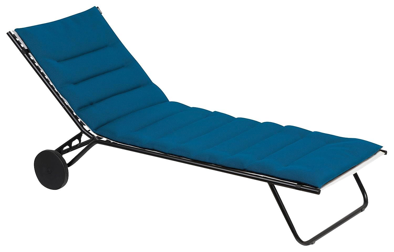 Sedia A Sdraio Classica Lafuma : Lafuma mobilier lfm cuscino per sedia a sdraio sunbeds blu