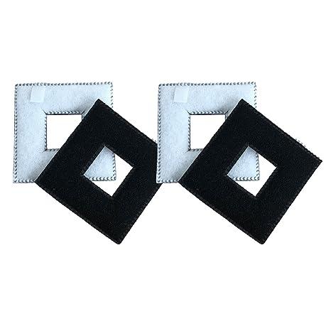 Finest-Filters 4 x Cartuchos de Filtro Fluval Chi compatibles para Acuario y pecera,
