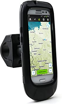 fijaci/ón Segura Arendo f/ácil de Usar Bolsa//Funda para Bicicleta iPhone 6 Plus Soporte Impermeable para Bicicleta Soporte para m/óvil//tel/éfono Inteligente