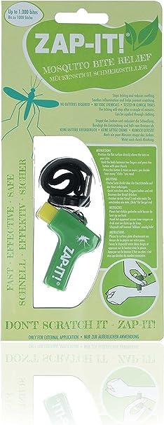 Horn Medical Paquete de 3 Zap IT Originales contra el Dolor/picazón en Las picaduras de Mosquitos, Diferentes Combinaciones de Colores (1x Turquesa, 1x Verde, 1x Azul): Amazon.es: Deportes y aire libre