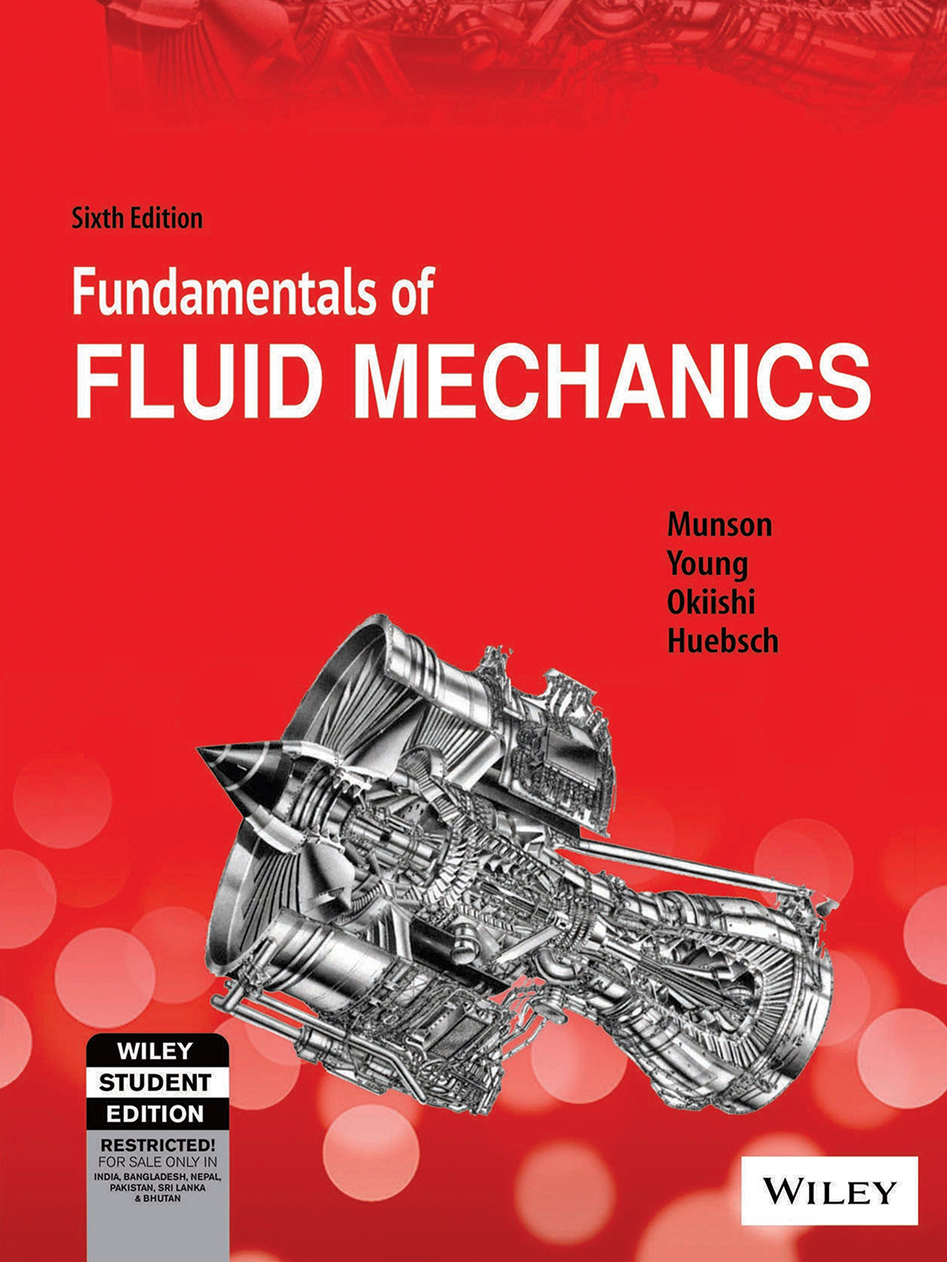 fundamentals of fluid mechanics sixth edition si version india