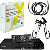 Sony BDP-S6700 4K Upscaling 3D Streaming Blu-Ray Disc Player Built in WiFi - 5 Pack Kit - Remote Control - 5 Pc Cleaning Kit - High Speed HDMI Cable - Xtreme Ear Buds (1 Year Warranty)