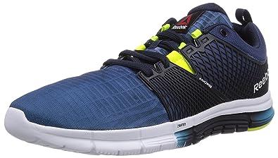 c2fd0bdfeb9a5b Reebok Mens Zquick Dash City Running Shoe Blue Size  12  Amazon.co ...