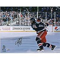 "$67 » Mika Zibanejad New York Rangers Autographed 11"" x 14"" 2018 NHL Winter Classic Photograph - Fanatics Authentic Certified"