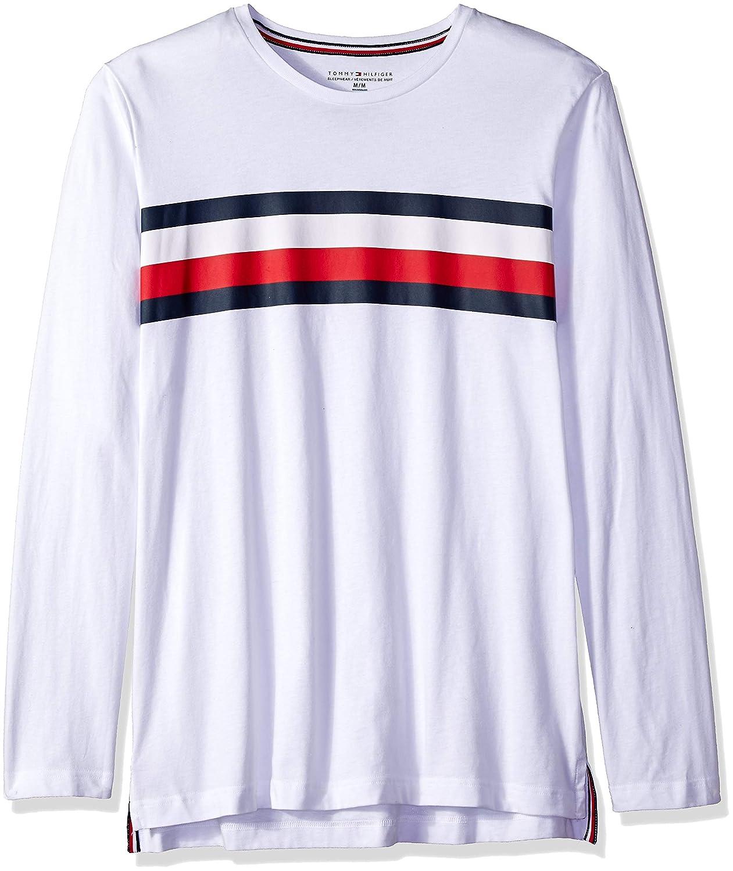 Tommy Hilfiger Mens Modern Essentials Cotton Jersey Crew Neck Long Sleeve Shirt