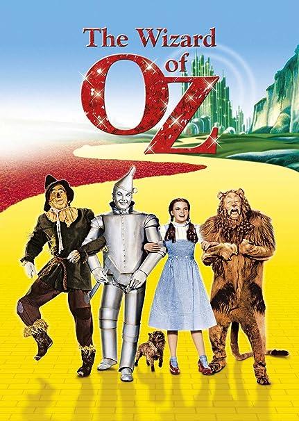 The Wizard Of Oz Edizione: Regno Unito Reino Unido DVD ...