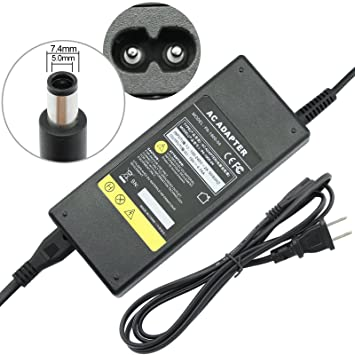 Amazon.com: BESTEK 90 W 19 V 4.74 A adaptador de corriente ...