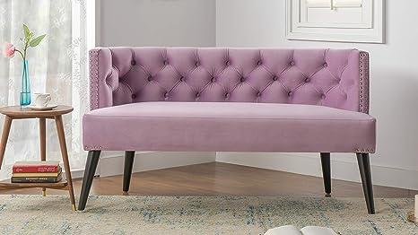 Amazon.com: Jennifer Taylor 61100 – 952 – Celine Tufted sofá ...
