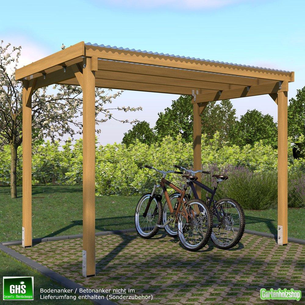 #GHS Fahrrad Unterstand 3×2,5 m#