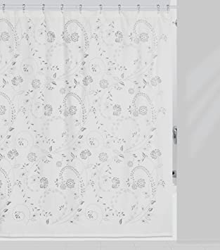 Creative Bath Products Eyelet Shower Curtain