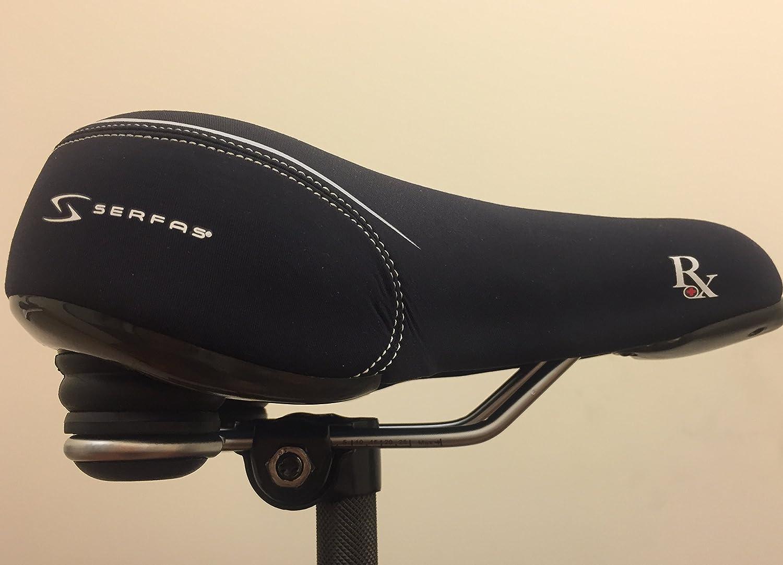 Serfas CR-RXL Cruiser RX Bike Saddle Black