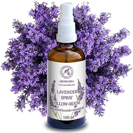 Spray de Aromaterapia de Lavanda 100ml - 100% Pura Aceite ...