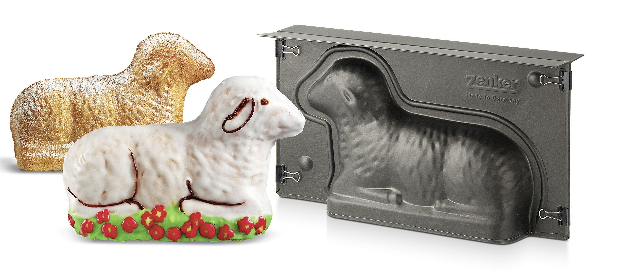 Zenker 9101''Special Season'' Lamb-Baking Tin, Black, 10.83 x 5.90 x 2.56'' by Zenker (Image #2)