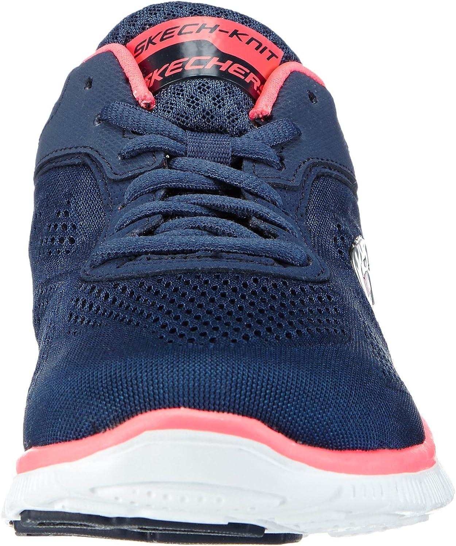 Skechers Flex Appeal Love Your Style, Chaussures de fitness femme Bleu Nvhp