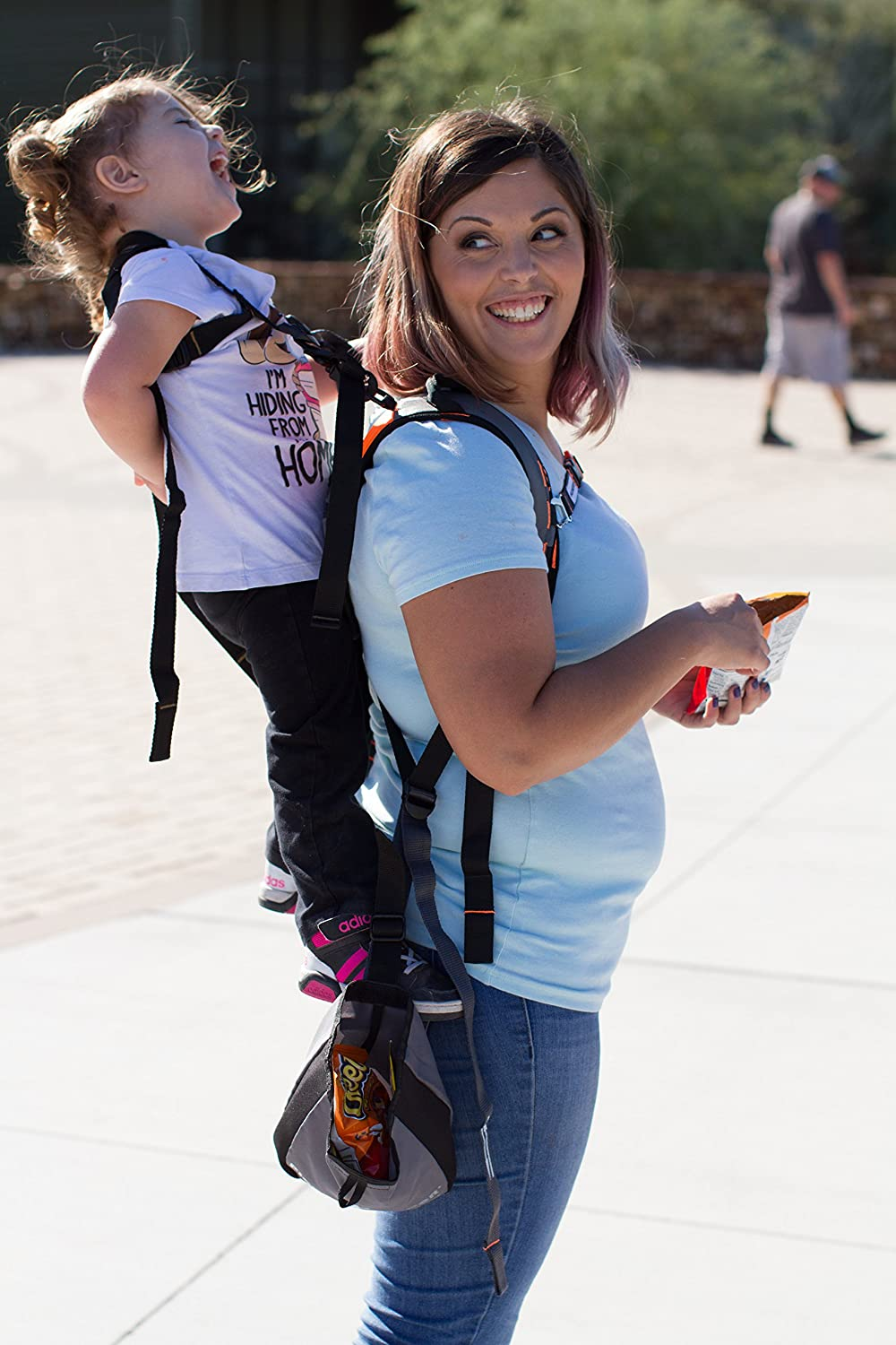 Child Toddler Carrier Backpack for Hiking Trails Camping Piggyback Rider Scout Model Fitness Travel