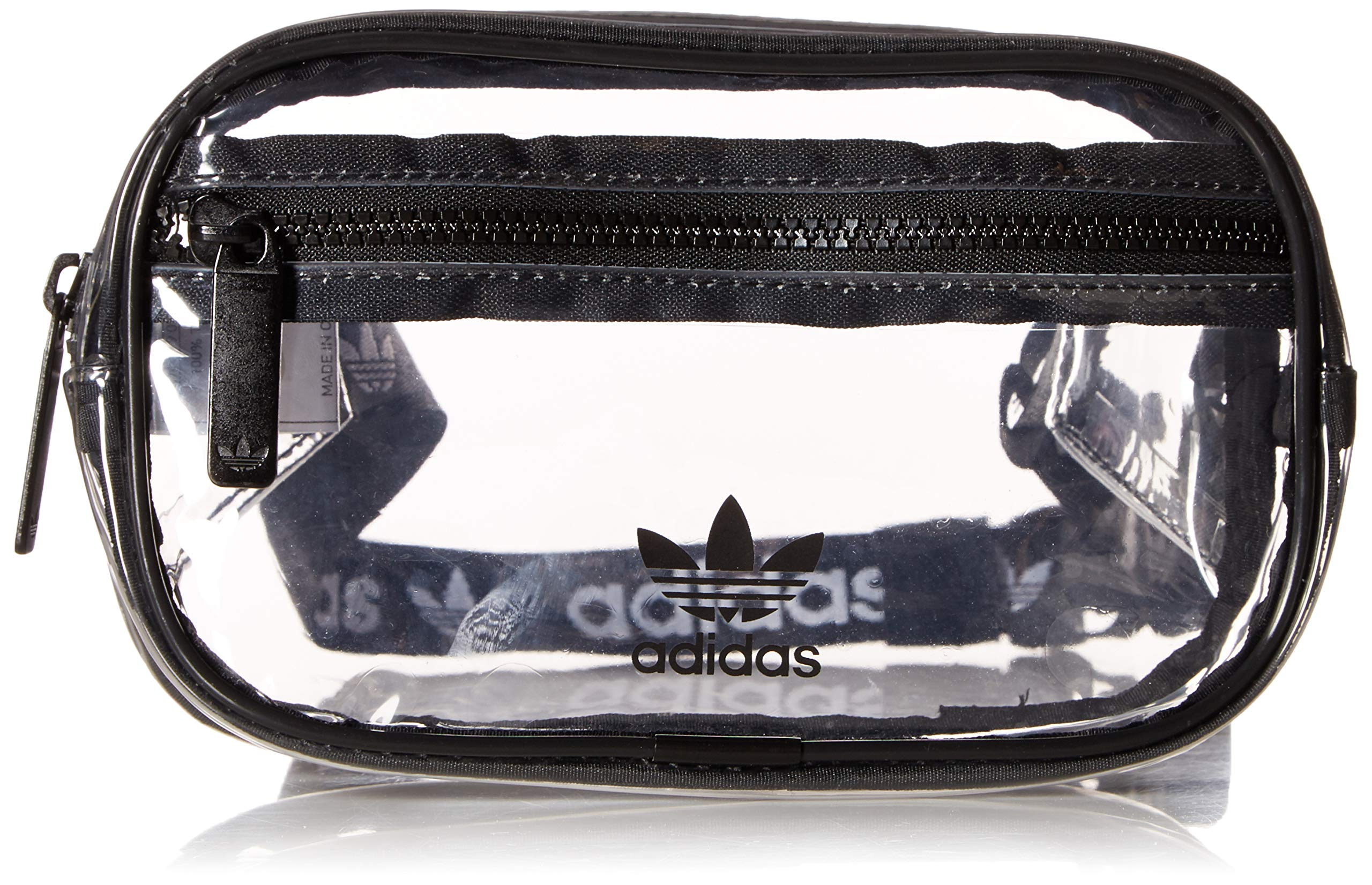 adidas Originals Originals Clear Waist Pack, Black, One Size